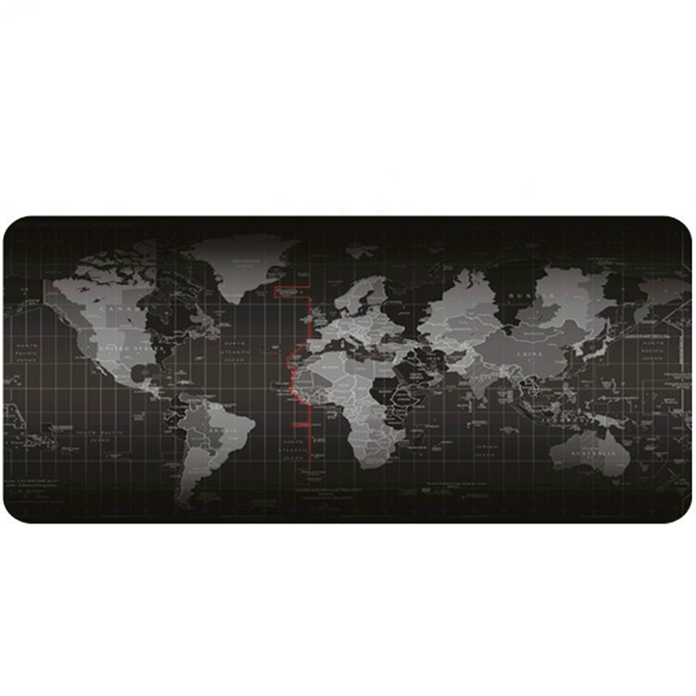 3 Sizes World Map Design Wide Large Computer