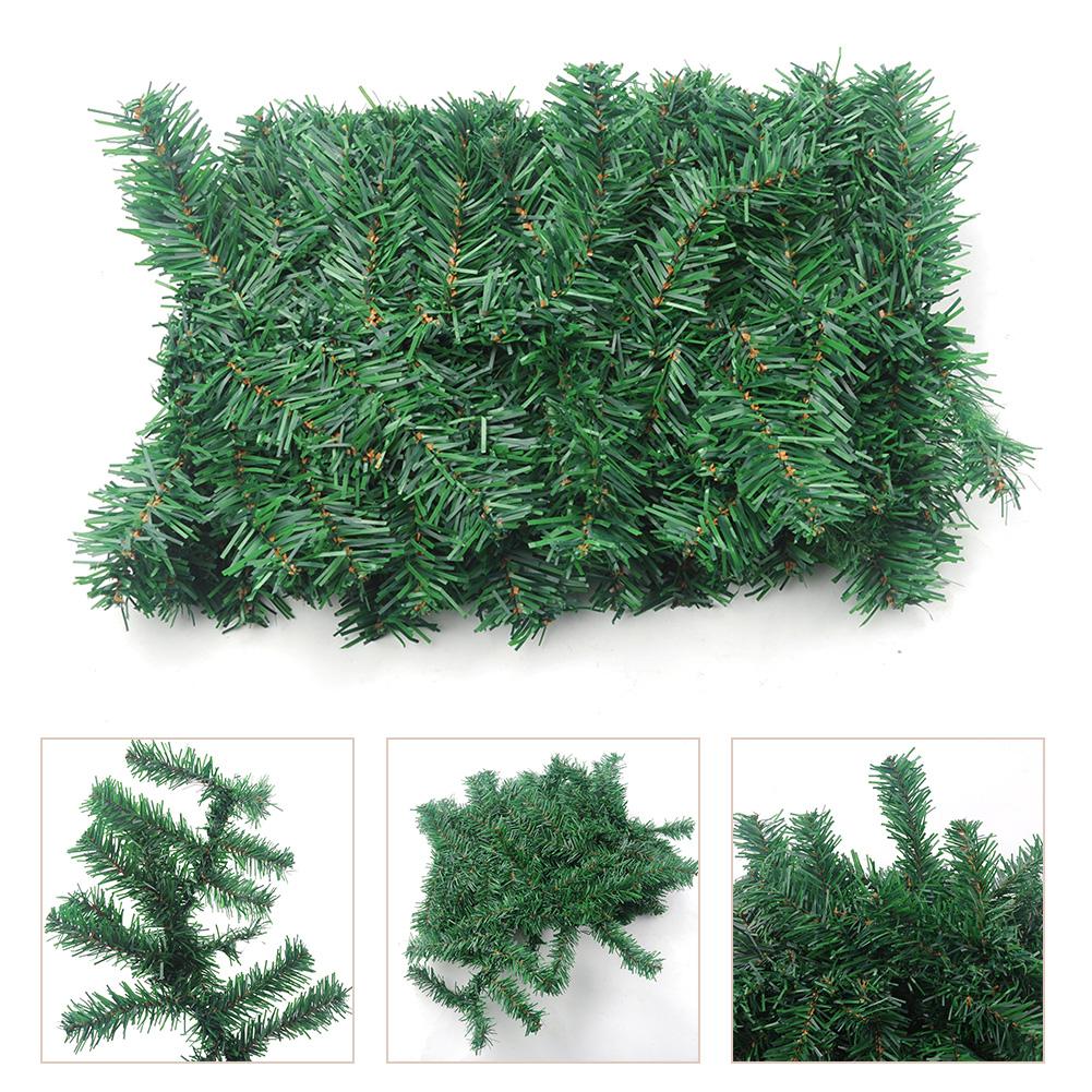 Weihnachtsgirlande kunststoff kiefer girlande tannenbaum - Tannenbaum dekoration ...