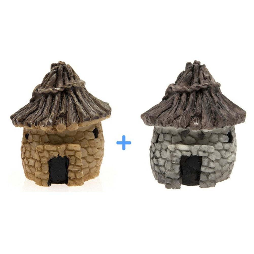 Diy mini miniature fairy garden ornament decor pot craft for Diy miniature garden accessories