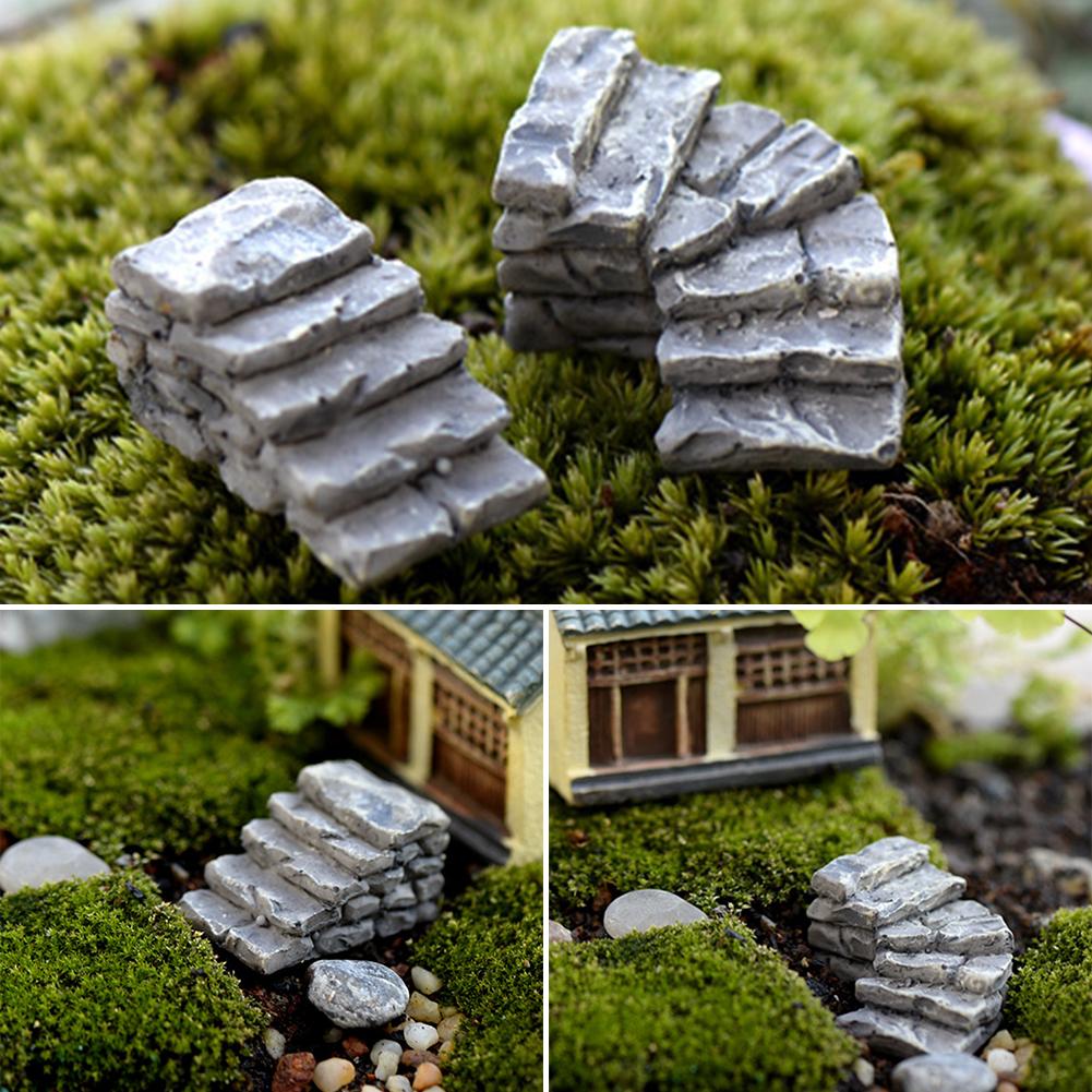 Mini figurine plant pot garden ornaments miniature fairy for Garden ornaments