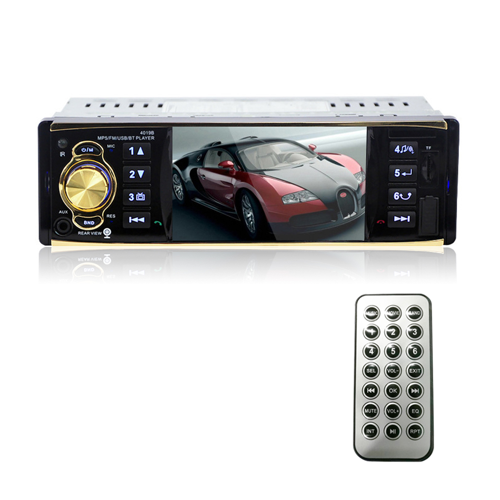 4 1 single 1 din car mp5 player radio stereo head unit. Black Bedroom Furniture Sets. Home Design Ideas